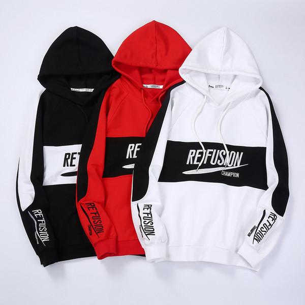 Autumn Designer Herren Pullover PulloverHoodies für Herrenbekleidung Baumwollmischung Brief Stickerei Kapuzenpulli Hip-Hop-Tops M-3XL