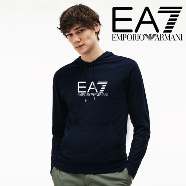 2018 marca de moda para hombre mujer 8 sudaderas con capucha de Armani con sudadera con capucha de diseñador hombres de lujo de manga larga pullover abrigo ropa suéter