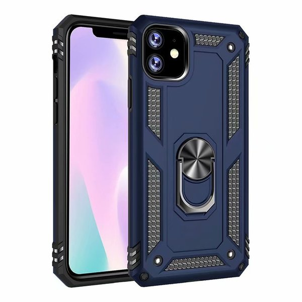 For Apple Iphone 11 Pro Max Case Ring Luxury Colorful Slim Sticker Hard Plastic TPU Cover Case For Apple Iphone 11 Pro Max