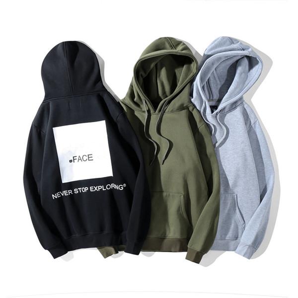 Mens Designer Hoodie Casual Style North Fashion Printing Designer Hoodies Long Sleeve Hoodies for Women Men Asian Size M-2XL