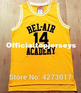 Cheap Basketball Jersey The Fresh Prince Of Bel Air Academy Movie #14 Will Smith Jersey Mens Ncaa