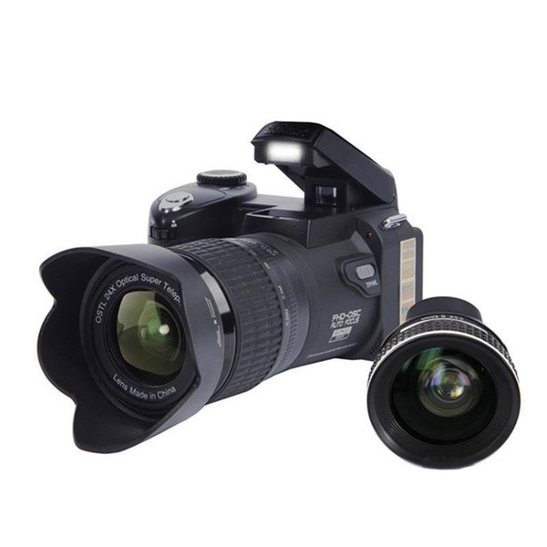D7100 33MP FHD DSLR Half-Professional Digital Cameras 24x Telephoto & Wide Angle Lens sets 8X Digital zoom Cameras Focus