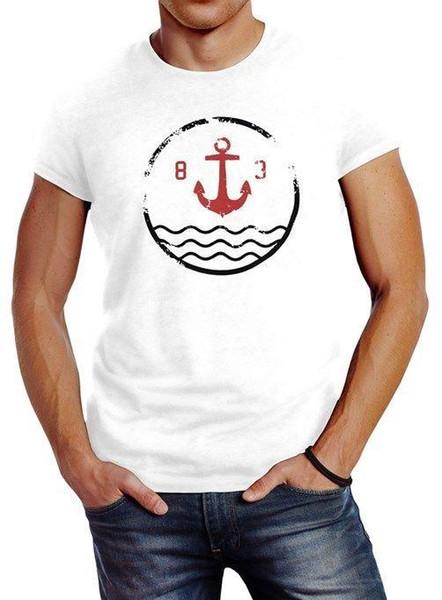 Anker Herren Tank-Top Shirt Neverless®