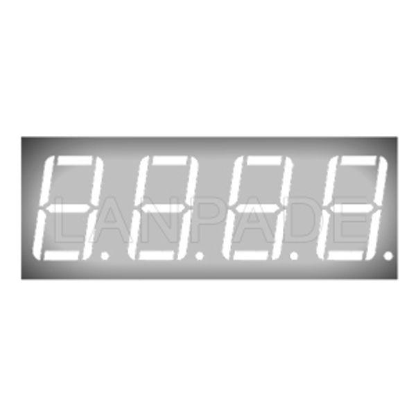 LED 7-Segment 0.56 inç Beyaz CA 4-Digit Ekran DHL Ücretsiz Kargo