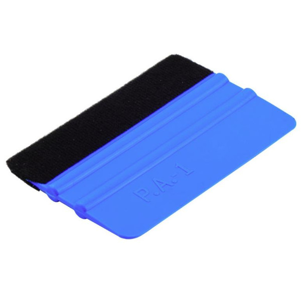 top popular car vinyl film wrapping tools 3m squeegee with felt soft wall paper scraper mobile screen protector install squeegee tool SN925 2021