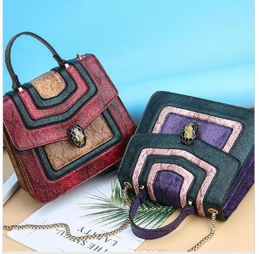 Señoras envío gratis mejor moda bolsa de mensajero retro pequeño bolso de lujo del estilo de las mujeres gran bolso cruzado exquisita cadena bolsa de mensajero