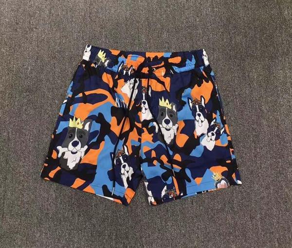 Venta caliente Nueva Moda 2019 Pantalones Cortos Casuales Popular famosa Marca de Diseño de Moda estilo del partido Ropa de Hombre WD04606