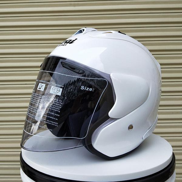 New Men Women ARAI motorcycle helmet half helmet open face helmet in winter casque motocross SIZE:M L XL XXL Capacete