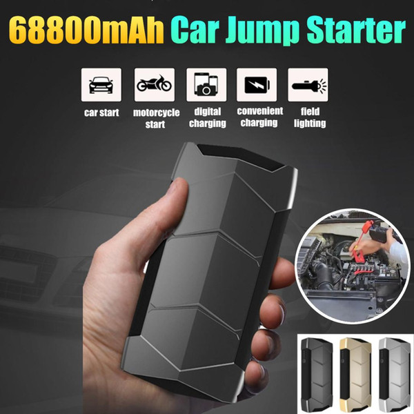 68800mAh Car jump starter Great discharge rate Diesels power bank for car Motor vehicle start jumper battery