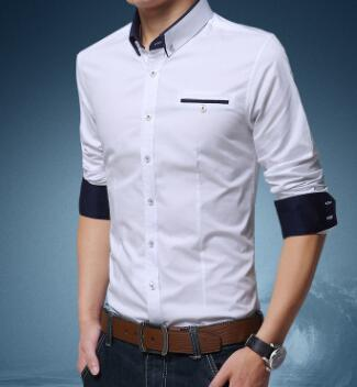 buy online 3d3f5 0d049 Großhandel Mens Designer Business Hemden Herren Casual Hemd Stehkragen  Einreiher Hemd Von Sunflower111, $32.8 Auf De.Dhgate.Com   Dhgate