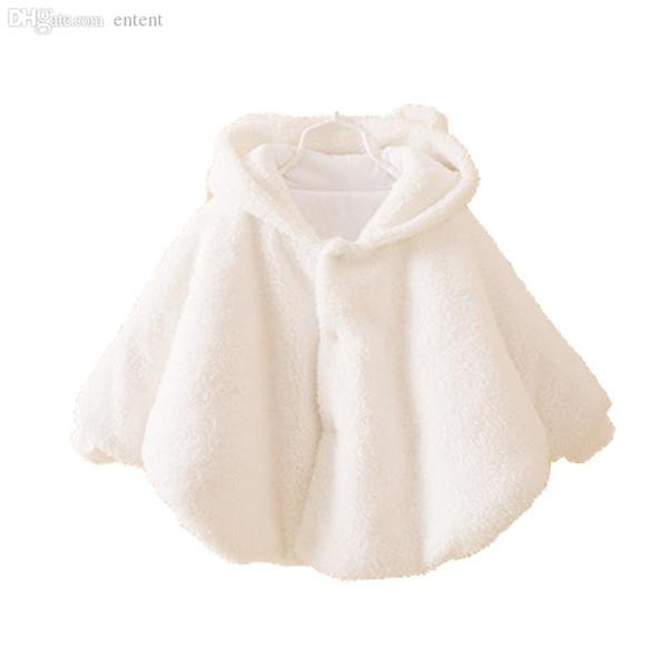 Großhandels-Neugeborenes Baby Jacke Baby-Winter-Kleidung Warm Flanell Mantel Kleinkind-Mädchen-Kleidung Cape Für Oberbekleidung-Mantel-Baby-Kleidung