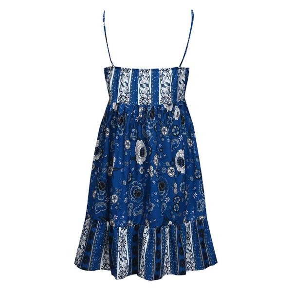 MUQGEW maternity dresses Women Maternity Summer Sleeveless Floral Print Casual Sundress Pregnancy Dress ropa de verano mujer