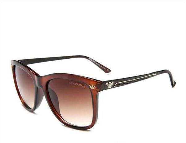 Marka Moda Erkekler Kadınlar Için 643 Güneş Gözlüğü Lüks Erkek Sunglass Retro Güneş Gözlükleri Bayanlar Tasarımcı Güneş Cam e ...