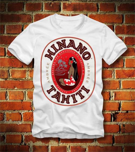 2019 neues Sommer-T-Shirt Lustiges T-SHIRT Lustiges BIER PAPEETE TAHITI POLYNESIA SÜDPAZIFISCHES BORA BORA Kundenspezifisches T-Shirt