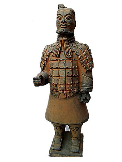 Terracotta Warriors officer Statue 50cm height Designer replica Ancient Qin Shihuang warrior eighth wonder world Great history