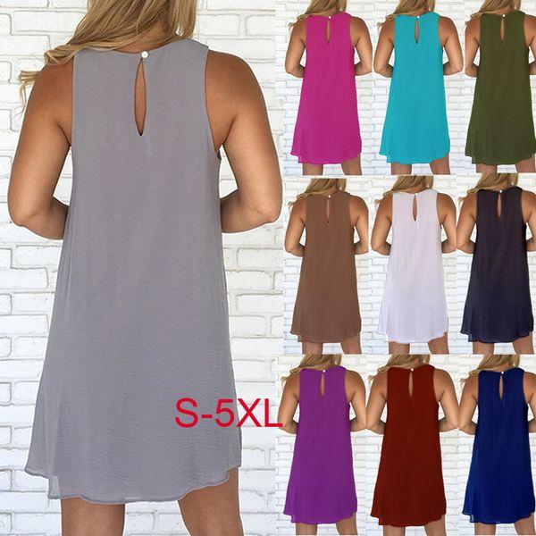 ba983f94bc8e4 Ebay Amazon Wish Sold Summer Burst Sleeveless Round Collar Back ...