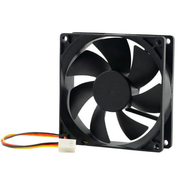 1 adet DC 12 V 3-Pin 90x90x25mm CPU Isı Emici CPU Soğutucu Fan Soğutma Hava soğutucu Fan 65 CFM Toptan