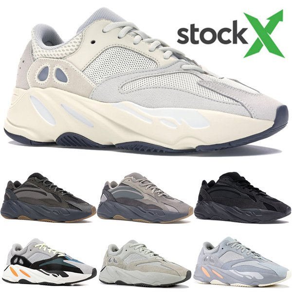 best selling Kanye West 700 OG wave runner Vanta Utility Black Analog Salt designer shoes men women Inertia Tephra 3M reflective running shoes sneakers