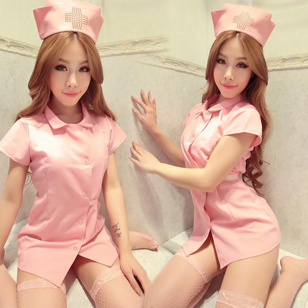 2019 Manufacturer spot interest uniform seductive sexy nurse clothing hotel uniform nurse dress sex underwear wholesale