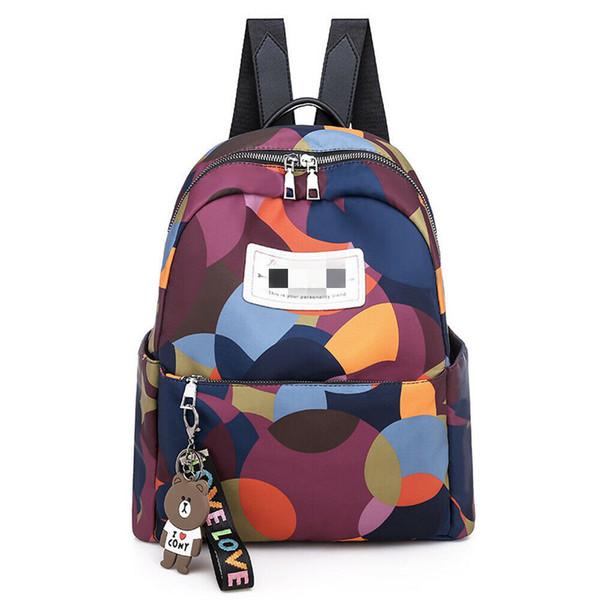 New Women Backpack Travel Oxford Handbag Satchel Rucksack Shoulder School Bag High Quality Waterproof