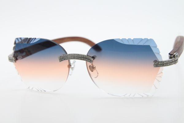 Silver Blue Orange Lens