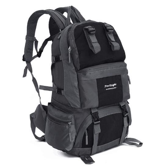 New Outdoor Backpack 50 L Waterproof Nylon Mountaineering Bag Large Capacity Outdoor Hiking Shoulder Mountaineering Bag 7 Colors