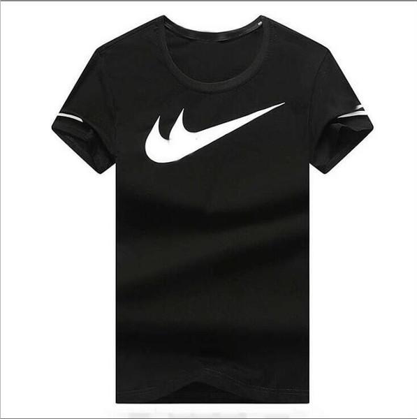 buy online 500c3 fa192 Großhandel Kurzarm Revers Marke NIKE T Shirt Herren Sweatshirts Mit  Buchstaben Luxus Designer Männer Pullover Mantel Kleidung # Jin Yu Von ...