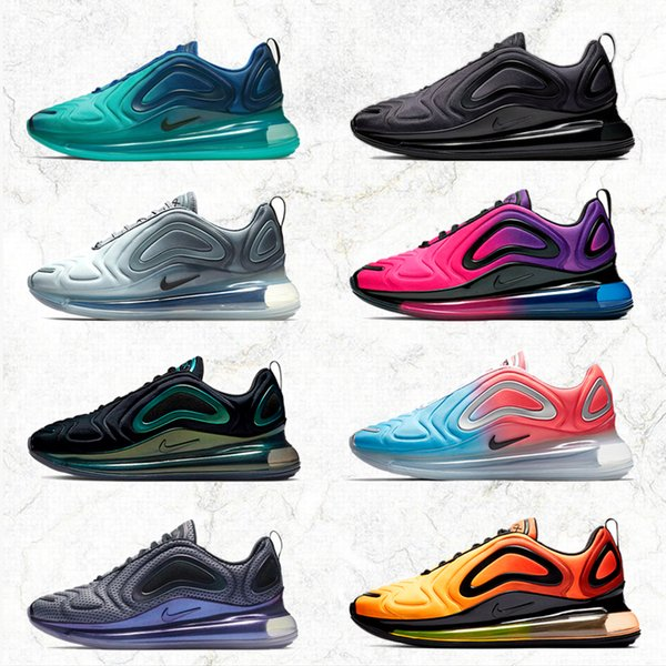 best selling 2019 max 720 Mens Womens Shoes Mens Air Sneakers max 72c 720s run out door Sports shoes size 36-45 720 atmospheric cushion cushioning