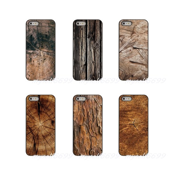 Textures Tree wood Hard Phone Case Cover For Samsung Galaxy Note 3 4 5 8 S2 S3 S4 S5 MINI S6 S7 edge S8 S9 Plus
