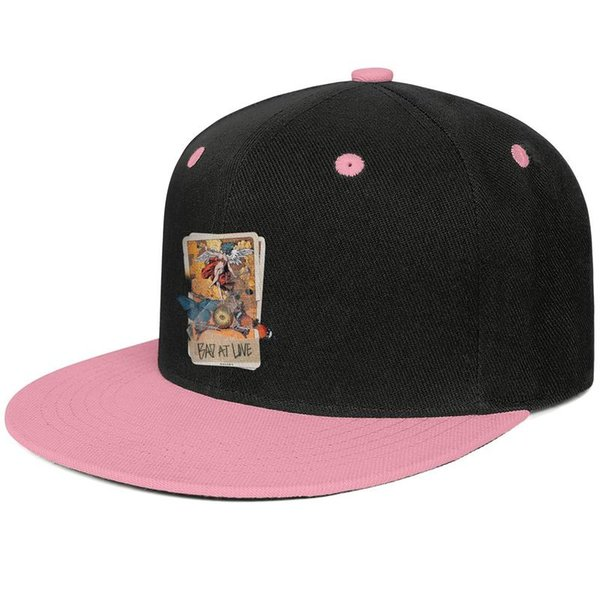 Halsey bad at love playing card Pink for men and women baseball flat brim cap cool fitted golf design your own fitted personalized best cla