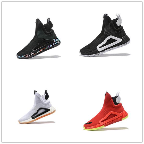 2019 yeni erkek giyim tasarımcısı ayakkabı üst kurulu sole erkek basketbol çizmeler için profesyonel görüş sneakers yönlü rahat örgü shoes15