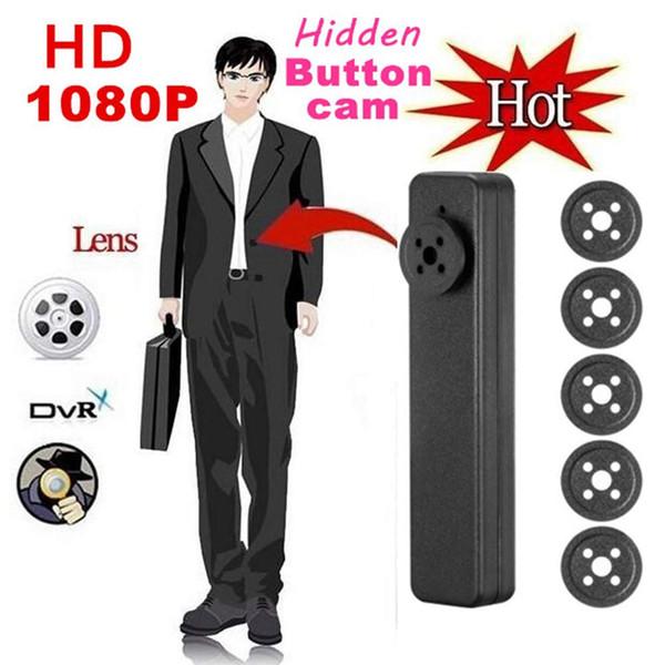 8 Go de mémoire Full HD intégré 1920x1080P Bouton Caméra Mini caméra vidéo Caméra de poche Caméscope portable PQ525