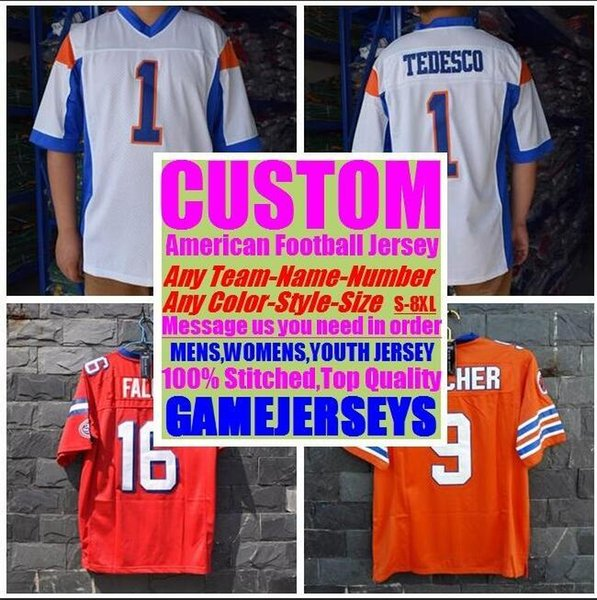 top popular Personalized american football jerseys College cheap authentic baseball sports jersey stitched mens womens youth kids 4xl 5xl 6xl 7xl 8xl 2019