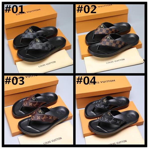 El MEJOR diseñador de goma de la diapositiva de la sandalia Tiger Slide Beach Diseñador de zapatillas Sandalias para hombre Zapatos de lujo Casual Moda diapositivas Chanclas Flipper