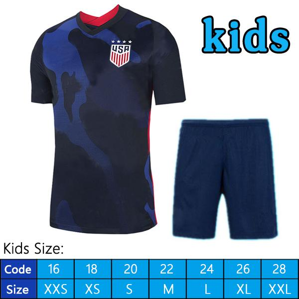 2020 away kids kit