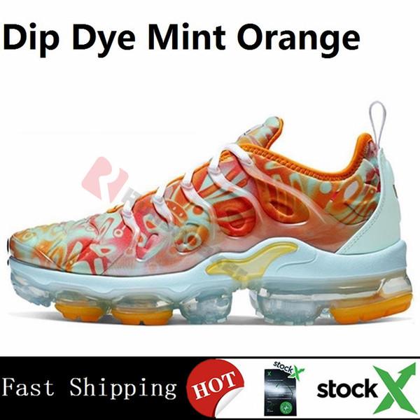 Dip Dye Mint Orange