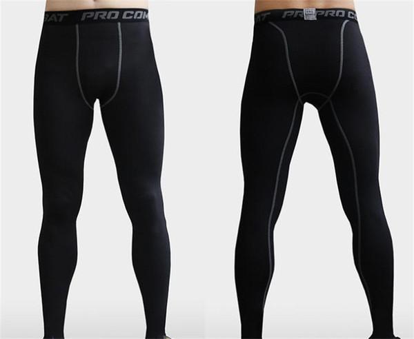 Skinny Calças Apertadas Calças de Força Elástica de secagem Rápida de Força Elástica Comprimir Calças Apertadas Para O Homem Ao Ar Livre Novo Estilo 15xlH1