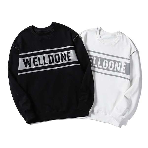 Nouveaux HOT Mens Designer Sweat-shirt Pull Marque Big Letter Print Fullsleeve Hoodie Pull Rue Sport Mode Casual Hiphop B101033L