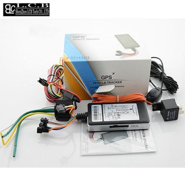 Localisateur de rackers NAVIRE RUSSE GRATUIT Véhicule d \ 'origine moto GSM GPS Tracker localisateur GT06N Système d \' alarme en temps réel ...
