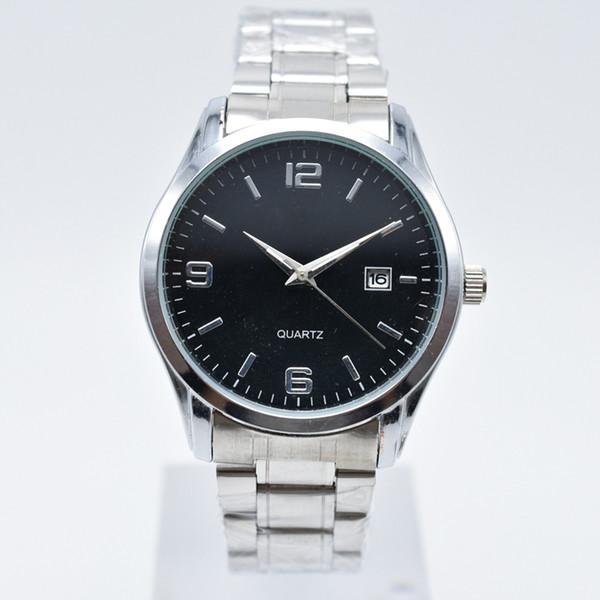 Moda casual mens relógios marca Popular new Popular nova moda top inox pulseira mens relógios de grife mens relógios de quartzo