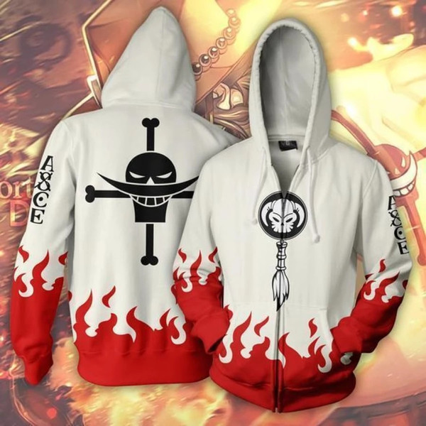 Anime ONE PIECE Roronoa Zoro Zipper Jackets Hoodies Sweatshirts Cosplay Jacket