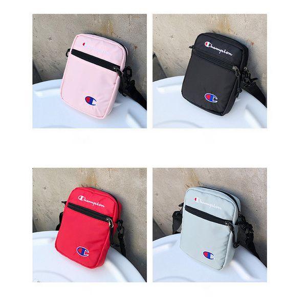 Champions One-shoulder Mini bag Unisex Brand Fashion Nylon Crossbody Bag Single Shoulder Travel Shopping Belt Waist Bags Fanny Pack B383