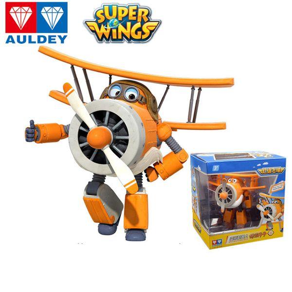 AULDEY Super Ali bambini Robot Jett Dizzy Bello Figure Animazione bambini Designer Brand Design 23 Robot Giocattoli con la scatola originale 3T Up 04