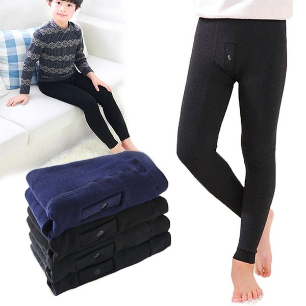 Hydrofuge Winter Underwear for Boy's Fashion Thermal Leggings 3-8 Years Old Child Kids Long Johns