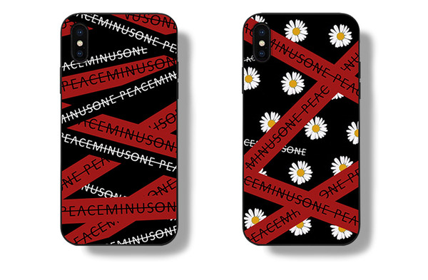Fashion Personality Bigbang G-Dragon Fans Design Peaceminusone Anti-War Case For iPhone 6 6s 7 Plus Plating Mirror Back Cover Customized