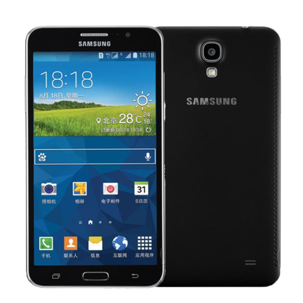 Recondicionado Original Samsung Galaxy Mega2 G7508Q 2 GB Ram 8 GB Rom Quad Core Dual Sim 4G LTE 13MP 6 polegadas Android Desbloqueado telefone