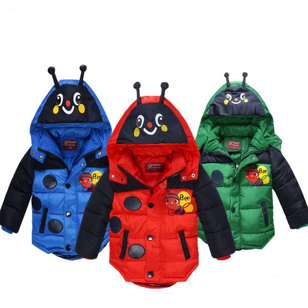 Çocuk pamuklu ceket 2018 yeni kış giyim erkek pamuklu ceket çocuk