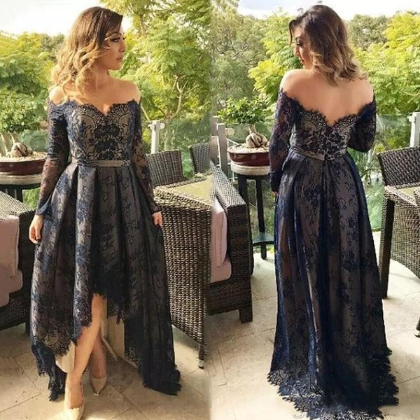 Off Shoulder Mother Of The Bride Dress African Long Sleeves Evening Party Gown