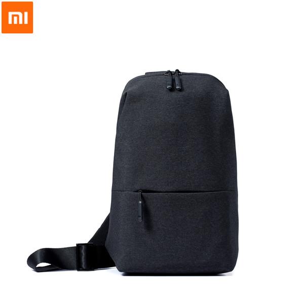 Xiaomi Original Backpack Sling Bag Leisure Chest Pack Small Size Shoulder Unisex Rucksack Crossbody Bag 4L Polyester Dropship