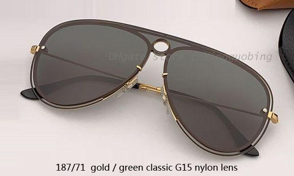 Obiettivo G15 classico oro / verde 187/71